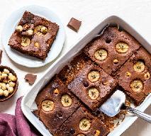 Brownie z bananami: przepis na ciasto niebo w gębie
