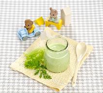 Zielona zupa dla dziecka - przepis na zupę ufoludków
