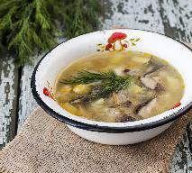 Zupa pieczarkowa: jak zrobić zupę pieczarkową na rosole?