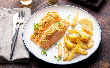 Ryba pod kruszonką - nowy pomysł na rybę