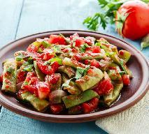 Fasolka szparagowa z pomidorami - pomysł na letni lunch