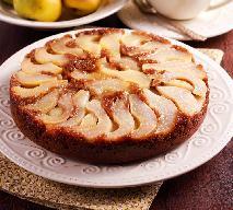 Piernikowe ciasto do góry nogami z gruszkami: obłędnie pyszne, genialnie proste