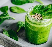 Zielony koktajl: szpinak, banan, jabłko - dlaczego warto pić zielone koktajle?