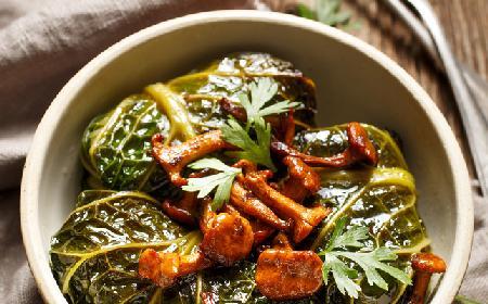 Gołąbki z kurkami - oryginalna wersja tradycyjnej potrawy