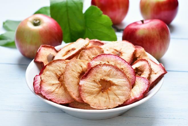 Chipsy z jabłek - jak zrobić?